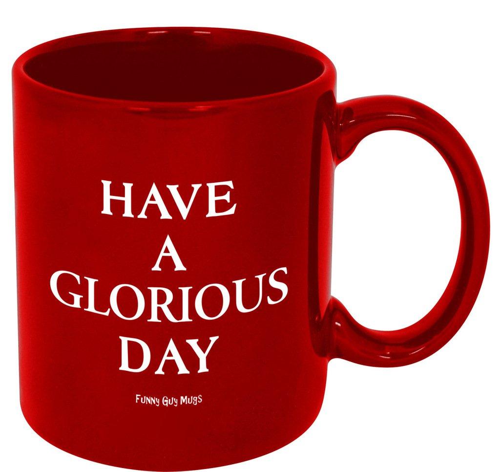 Funny Guy Mugs Always Be Yourself Unless You Can Be A Unicorn Ceramic Coffee Mug, White, 11-Ounce MUG-62