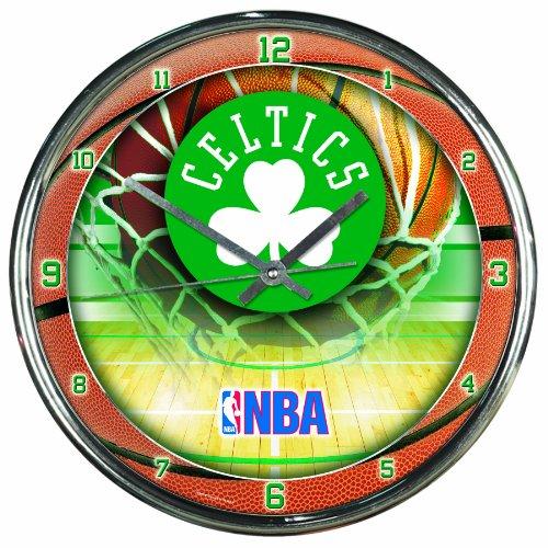 NBA Boston Celtics Chrome Clock, 12