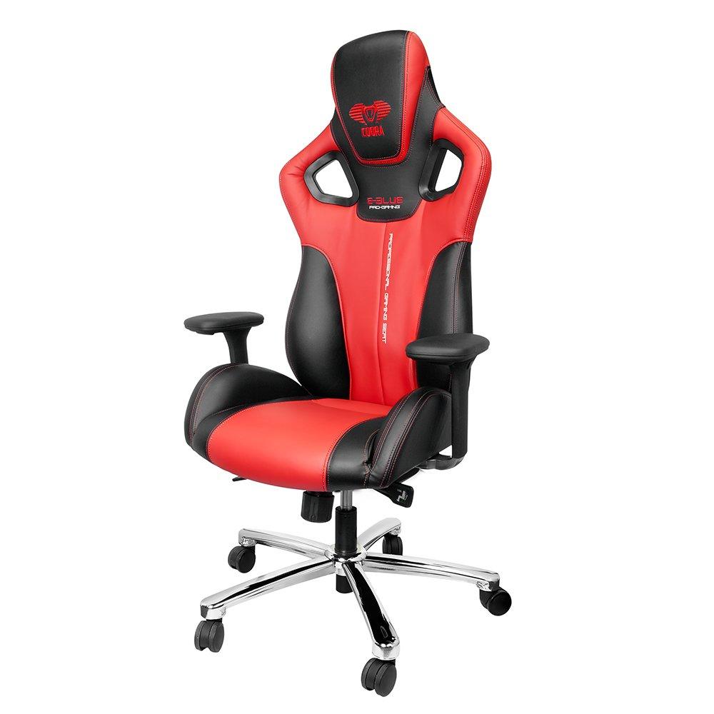 E-BLUE Cobra Gaming Chair, Red