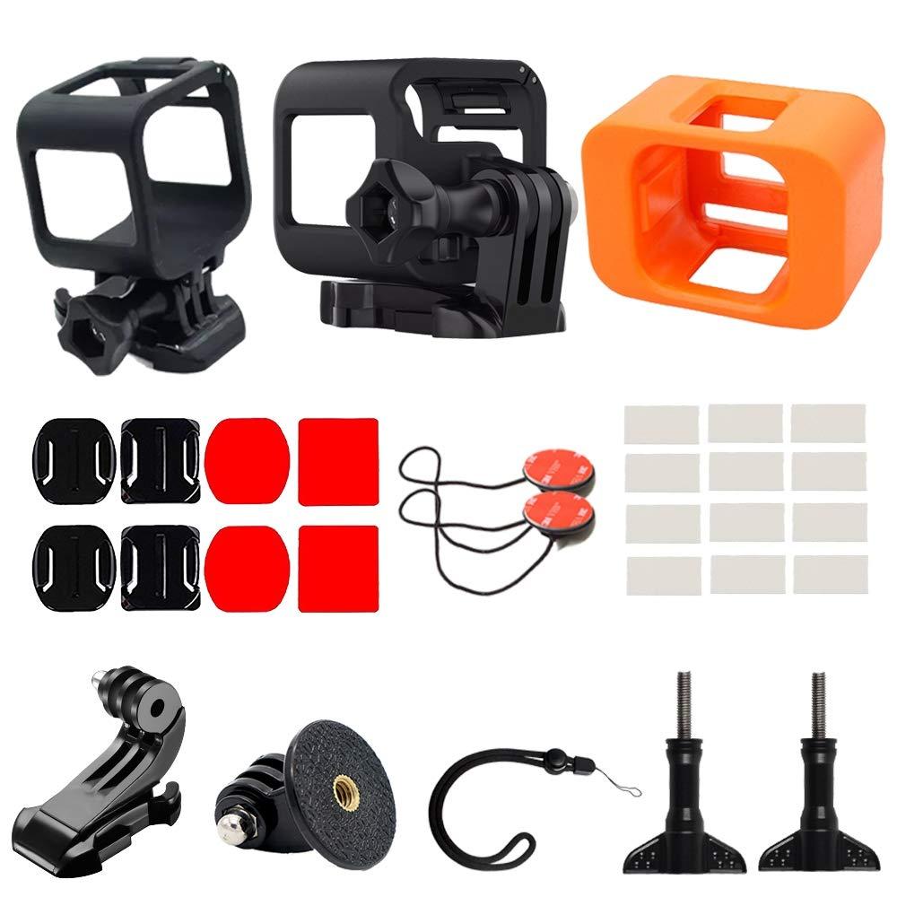 zhang-hongjun,Kit d'accessoires de Protection pour caméra 30 en 1 pour conférence GoPro Hero 4/5(Color:Noir ET Orange)