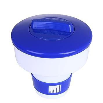 RingSun Dispensador cloro flotante / Dispensador químico / Flotador de cloro para piscinas y spa: Amazon.es: Jardín