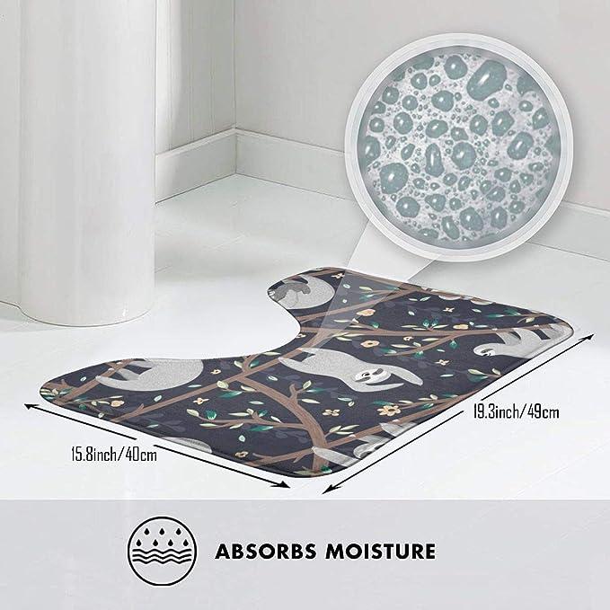 Amazon.com: Moderna mesa cambiadora de baño para bebé con ...