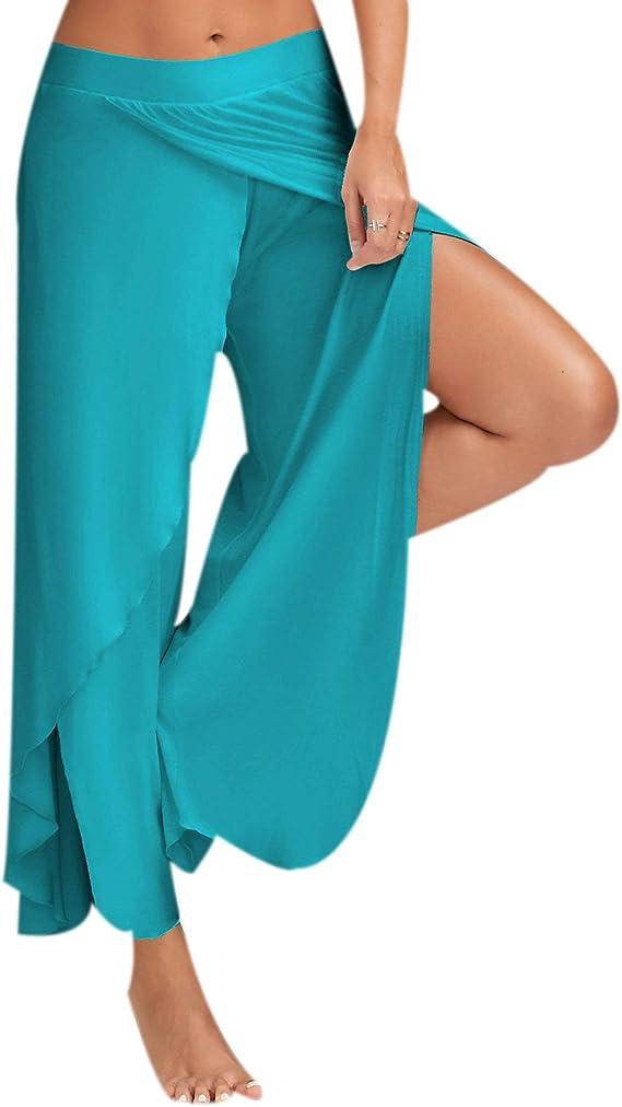 Bebling Pantalones de harén para Mujeres Pantalones de chándal de ...
