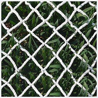 Malla de jardín YINUO Balcón Blanco Escalera Protección de Seguridad Niños Mascota Prevención de caídas Red de Carga Jardín Decoración de Plantas Anti-Gato Aislamiento (Size : 12 * 12M(39 * 39ft)): Amazon.es: