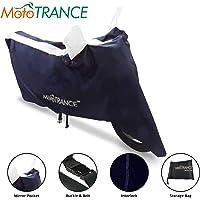 Mototrance Sporty Arc Blue White Bike Body Cover For Universal Universal