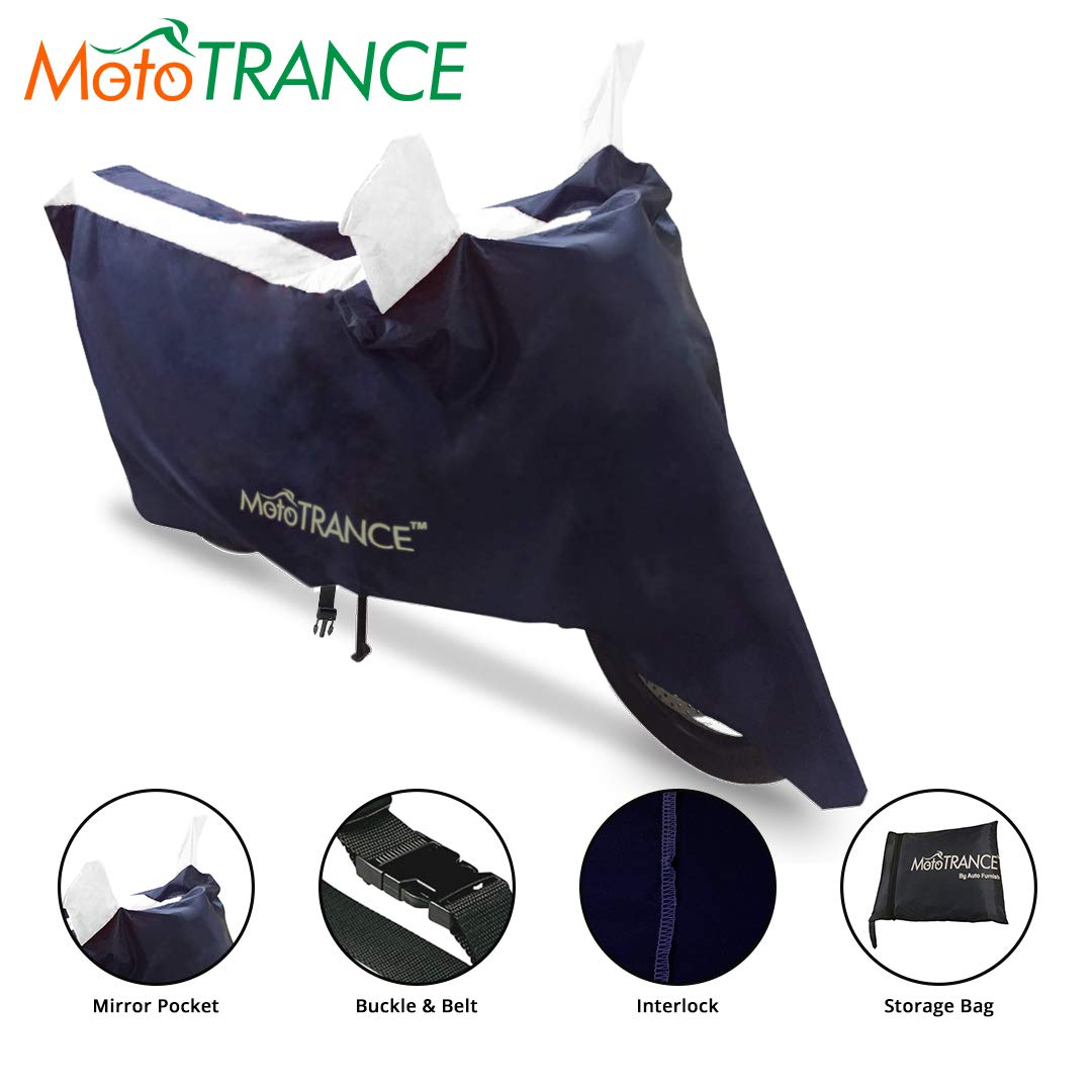 Mototrance MT801082 Universal Bike Body Cover (Blue)