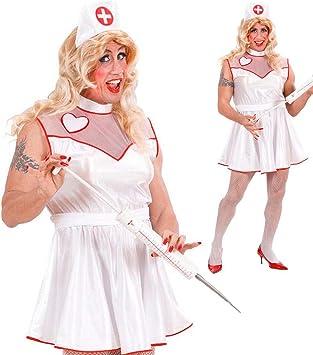 NET TOYS Disfraz de Enfermera para Hombre Enfermera Despedida de ...