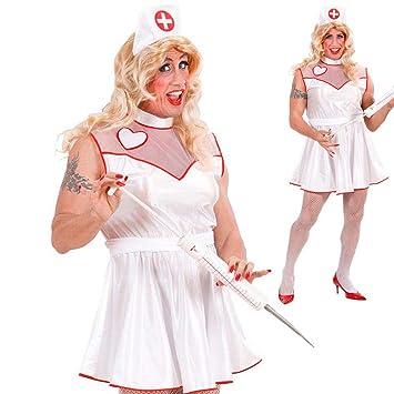 Disfraz de enfermera para hombre enfermera despedida de ...