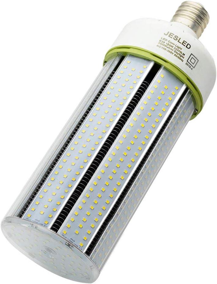 UL DLC 80W~125W LED Corn Cob Bulb Replace 300W~400W Warehouse Gym Highbay Light