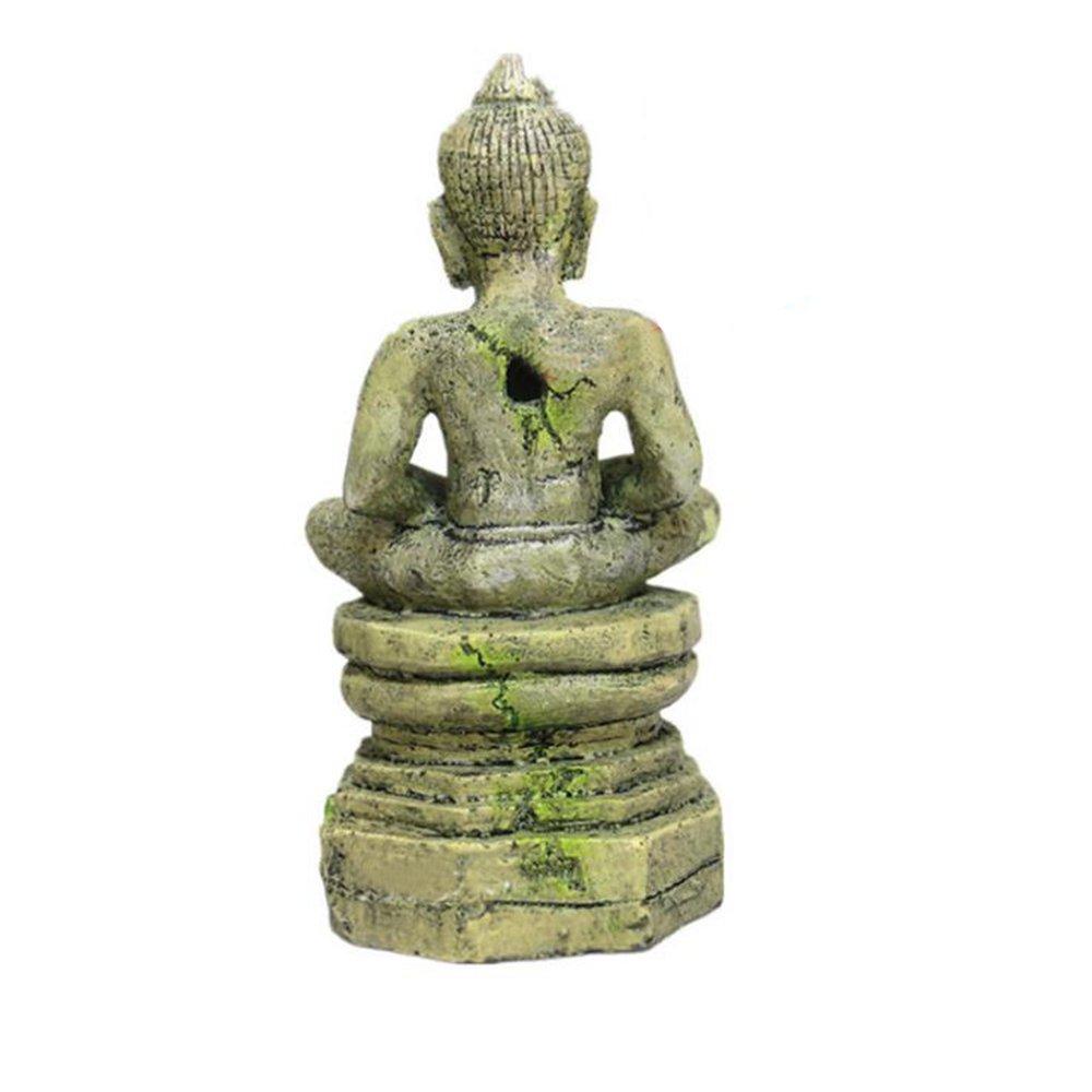 URIJK Decoraciones del Tanque de Peces Estatua de Buda Acuario Adornos Exóticos Ambientes de Pecera: URIJK: Amazon.es: Hogar
