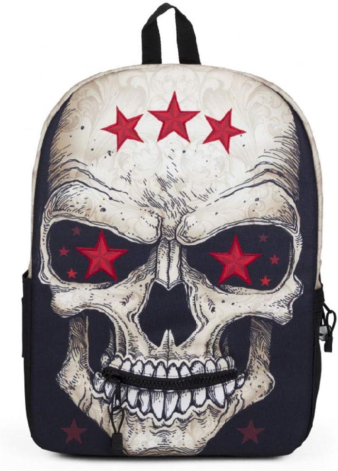 American Tide brand SPG Genuine Kite Wings Backpack Ghost King Totem Print Backpack High School Student Bag D101