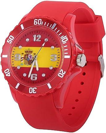 Reloj de Cuarzo con diseño de Bandera de Silicona, diseño de ...