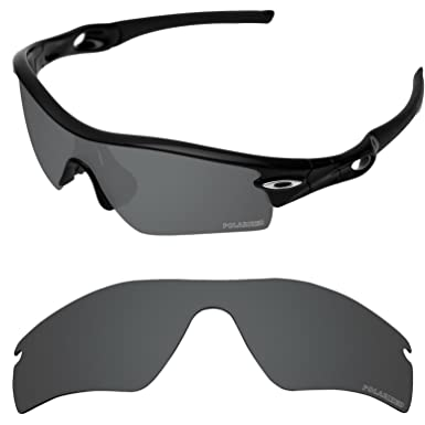 a94ba772cf0 Tintart Performance Lenses Compatible with Oakley Radar Path Polarized  Etched-Carbon Black