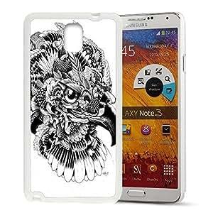 Animal Art Illustration Pattern HD Durable Hard UzhjokHA54c Plastic case cover for Samsung Galaxy Note 3