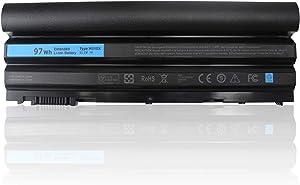 LXHY M5Y0X 11.1V 97Wh Laptop Battery Compatible with Dell Latitude E6420 E6430 E6520 E6530 E5420 E5430 E5520 E5530 Dell Inspiron 14R 15R 17R SE, 2P2MJ PRV1Y 7FJ92 312-1325 T54FJ 9 Cell Replacement