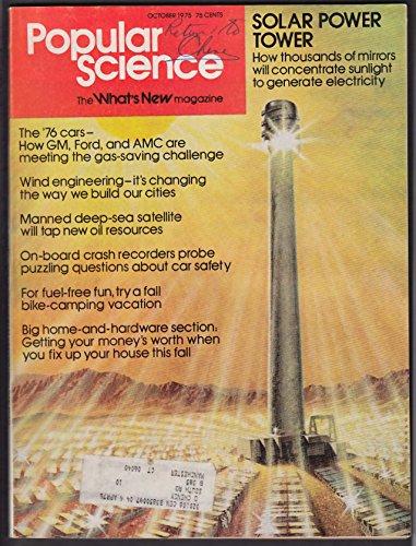 Deep Oil Drilling - POPULAR SCIENCE General Motors Ford AMC 1976 cars deep-sea oil drilling 10 1975