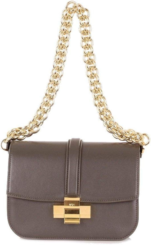 B07S4CM16B Luxury Fashion | N°21 Womens N04128NPO011GREEN Green Shoulder Bag | Season Outlet 610mFKj4w2L.UL1500_