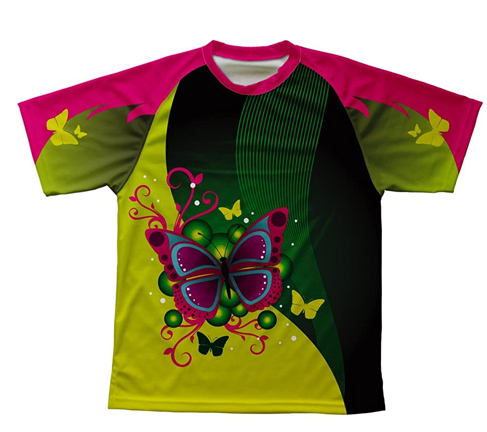 ScudoPro Fluttery Butterfly Technical T-Shirt para Hombre y Mujer