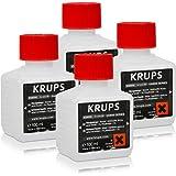 2 x limpiador líquido para Krups XS 9000 para capuSistemas de 200 ml