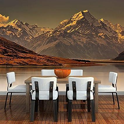 amazon com azutura misty mountain wall mural new zealand landscape