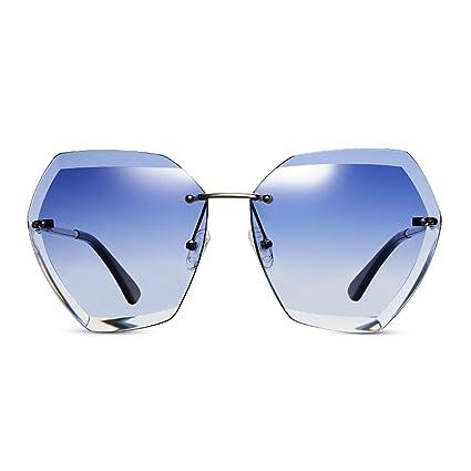 c8d7c8e856ff2 CJJC Gafas de Sol de Mujer Gafas de Sol de protección UV polarizadas  Simples de la