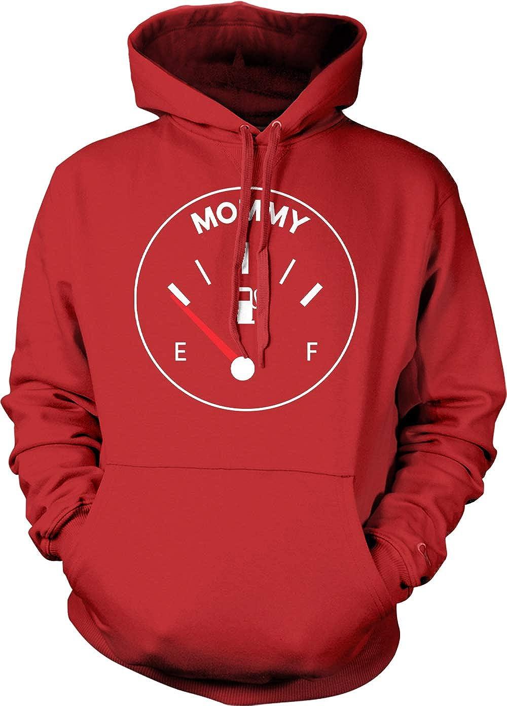 Tcombo Mommy Fuel Gauge Funny Car Mechanic Mom Unisex Hoodie Sweatshirt