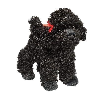 Douglas Gigi Black Poodle Plush Stuffed Animal: Toys & Games