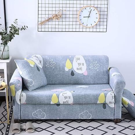JiaQi Stretch Fundas de sofá,Antideslizante Sofá Espuma,Anti-mite Protector de Mascota