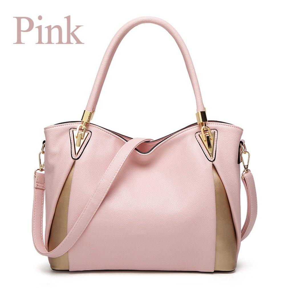 Yueling Taschen für Frauen Handtaschen Frauen Taschen Schulter Handtasche Tote Leder Handtasche B07FSN4RPL Umhngetaschen Im Gegensatz zu dem gleichen Absatz