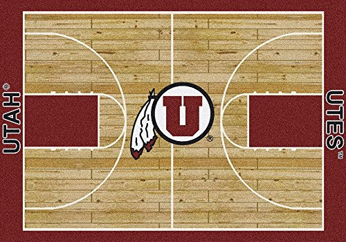 Utah Utes NCAA Area Rug - Home Court (5'4