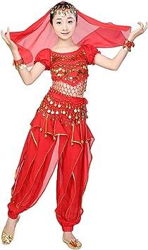 Magogo Belly Dance Perfomance Disfraz 6 unids Kit para Niñas ...