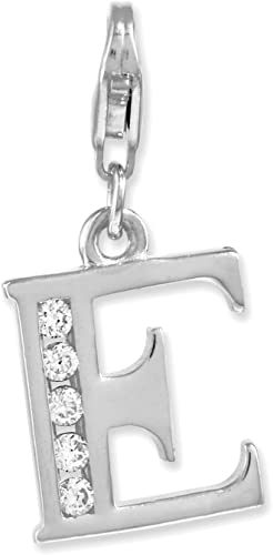 Amore La Vita Sterling Silver 3-D Violin and Antiqued Bow with Lobster Clasp Charm