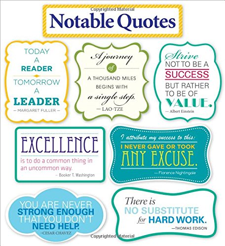 Notable Quotes Bulletin Board (Elementary Boards Bulletin)