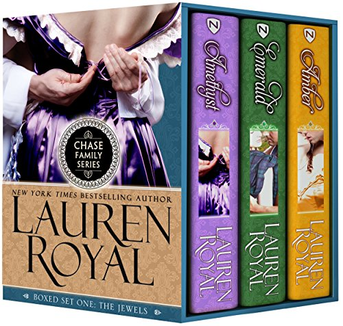 Chase Family Boxed Set One: The Jewels: Amethyst, Emerald, and Amber (Chase Family Series) (Sexy Scottish Ladies)