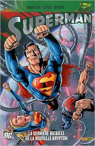 Livres gratuits Superman : La dernière bataille de la nouvelle Krypt epub, pdf