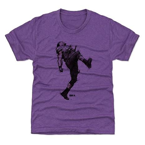 3535d7d6 Amazon.com : 500 LEVEL Ray Lewis Baltimore Football Kids Shirt - Ray ...