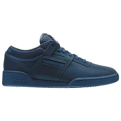 7f7b93634d3 Reebok Shoes - Workout Lo Clean PRS Blue Multicolor White Size  44.5 ...