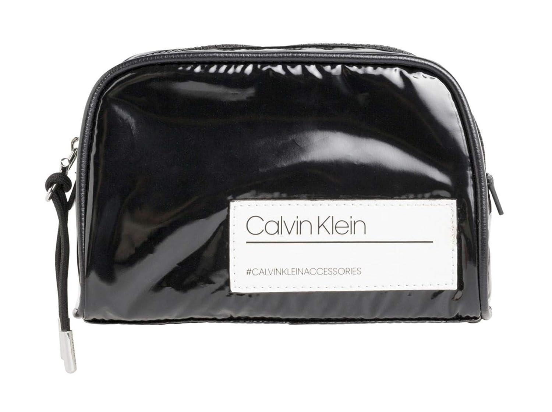 Calvin Klein - Bind Cosmetic Bag, Carteras de mano Mujer, Negro (Black), 1x1x1 cm (W x H L): Amazon.es: Zapatos y complementos