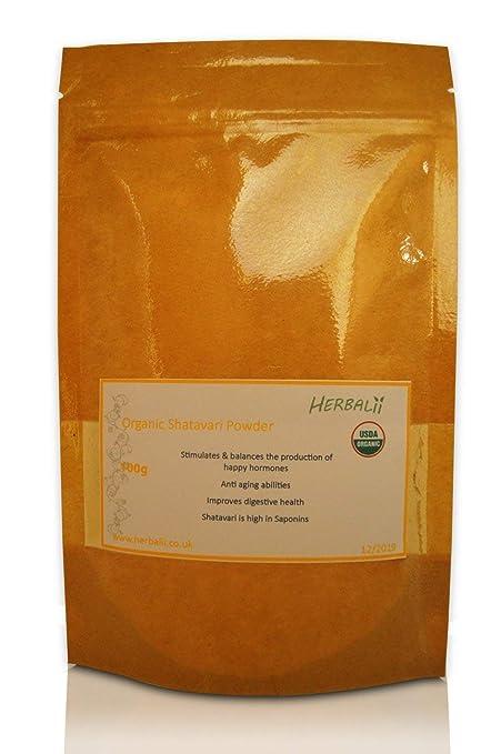 Polvo Shatavari | Certificado Orgánico | Espárragos en Polvo ...