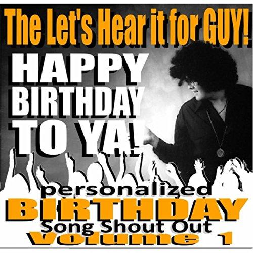 James (Happy Birthday to Ya Personalized Birthday Song Shout Out) Personalized Happy Birthday Song
