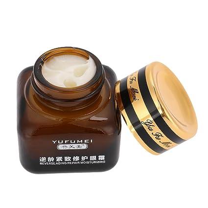 Crema para ojos para círculos oscuros y hinchazón Antienvejecimiento, arrugas de alivio, bolsa para ojos, gel de ojos orgánico natural Hidrato, ...
