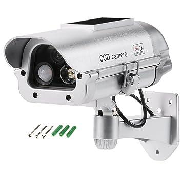 KKmoon interior y exterior para falsa Simulación de imitación CCTV cámara de seguridad PIR Sensor Detector