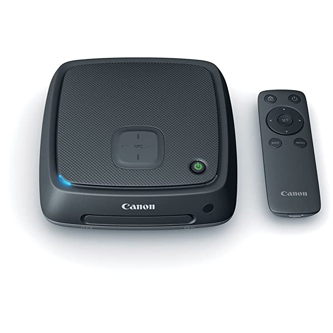 Canon Connect Station CS100 1TB Storage Device and CS-RC1 Remote Control Dome Cameras at amazon