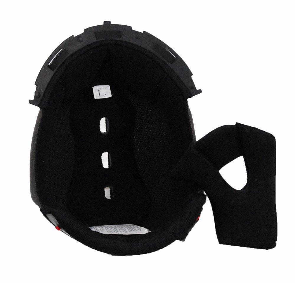 94-0434 Raptor Junior Off-Road Helmet Black, Large