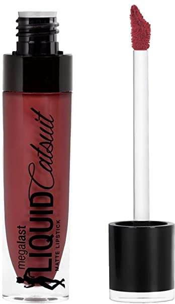 Wet 'n Wild Megalast Liquid Catsuit Matte Lipstick, Give Me Mocha, 6g Lipsticks at amazon