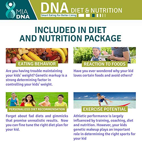 2 in 1 - Diet & Discovery for DNA Test Reveal Your Potential. Find children's genes they are by the genetic