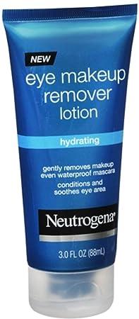 Neutrogena Eye Makeup Remover Lotion 3 oz Pack of 4
