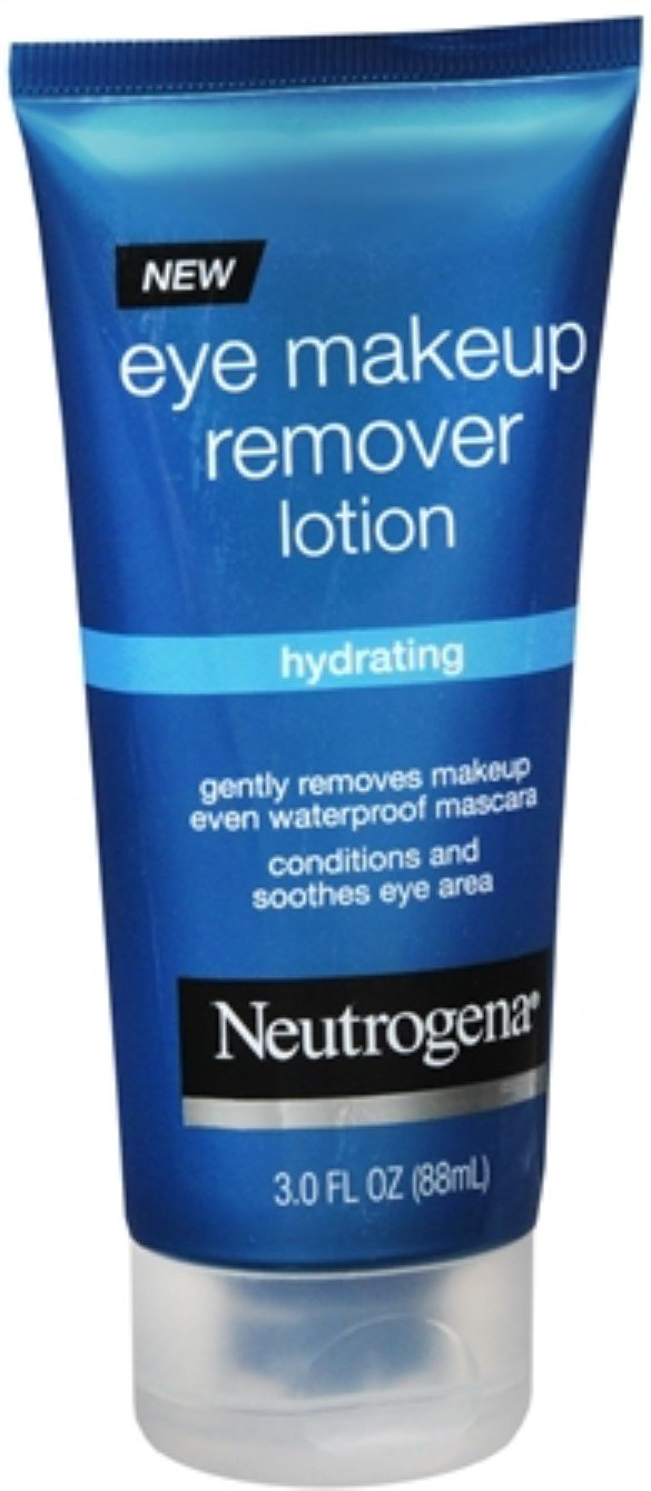 Neutrogena Eye Makeup Remover Lotion 3 oz (Pack of 6)