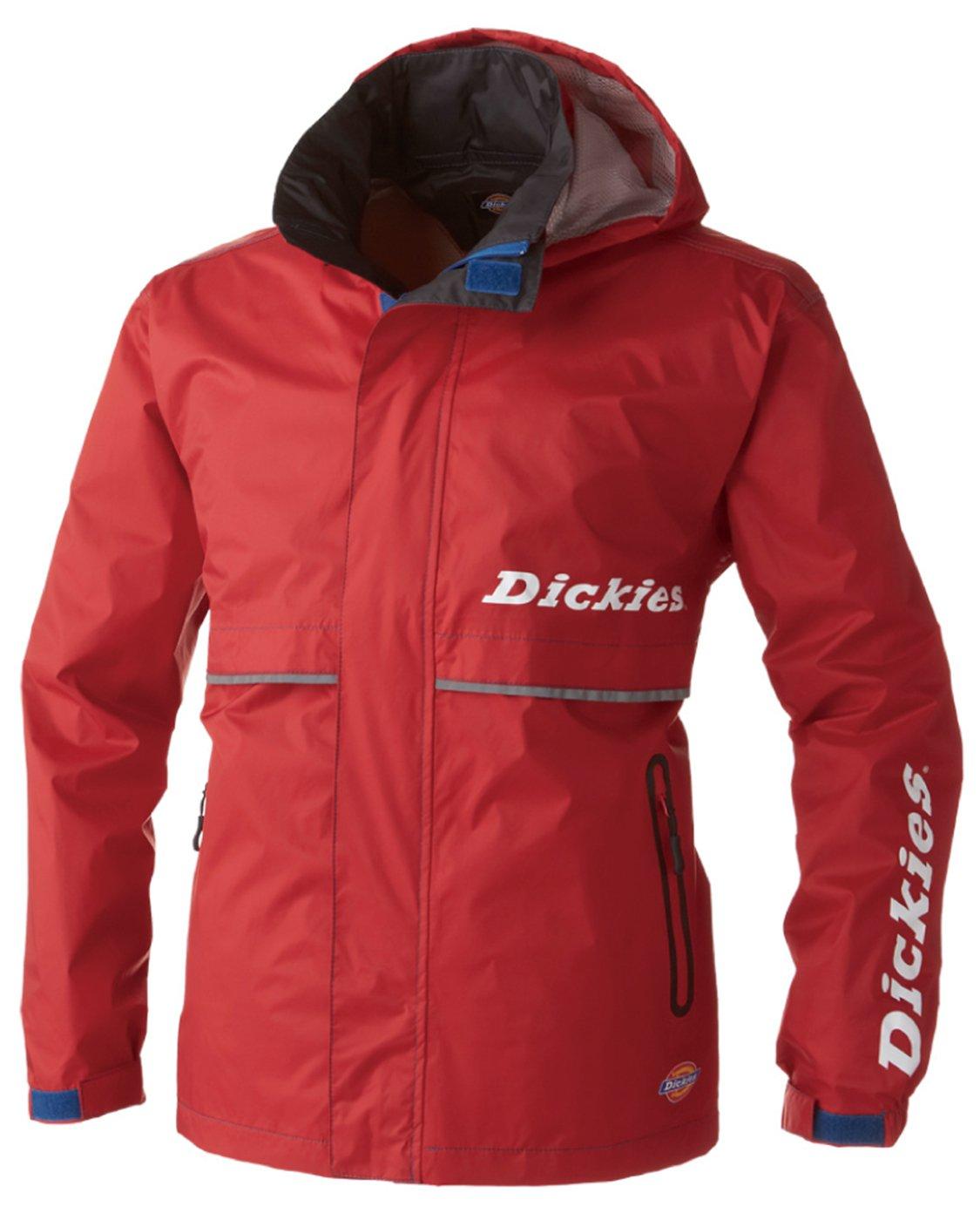 Dickies(ディッキーズ) Dickies レインウェア 上着 合羽 メンズ cc-d3505 B078TSK83F M|レッド レッド M