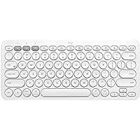 Teclado Bluetooth - K380 Multidispositivo - Blanco